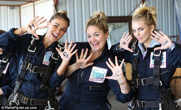 AnnaLynne McCord takes the plunge and goes skydiving for