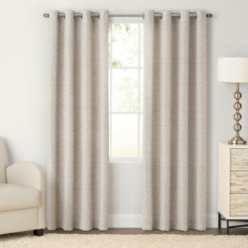 sonoma goods for life™ naturals morsecode curtain | best living