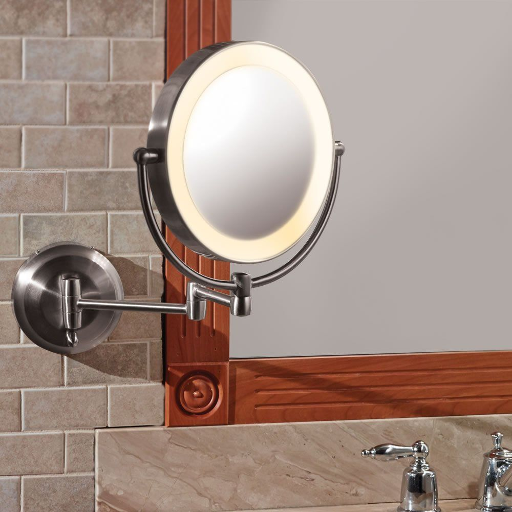 This Is The Only Wall Mounted Lighted Mirror That Battery Ed So It Can Be Installed Anywhere Without Requiring Electrical Work Or An Unsightly And
