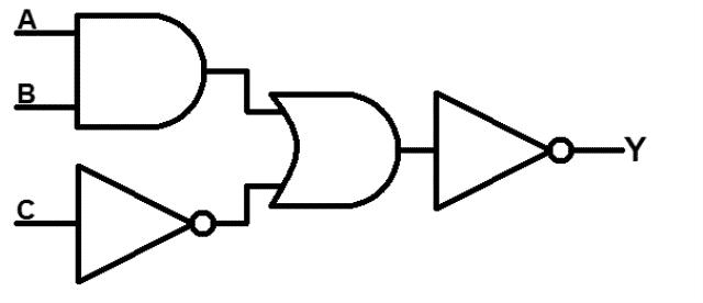 Example Of A Logic Gate Circuit Logic Circuit Design Principles