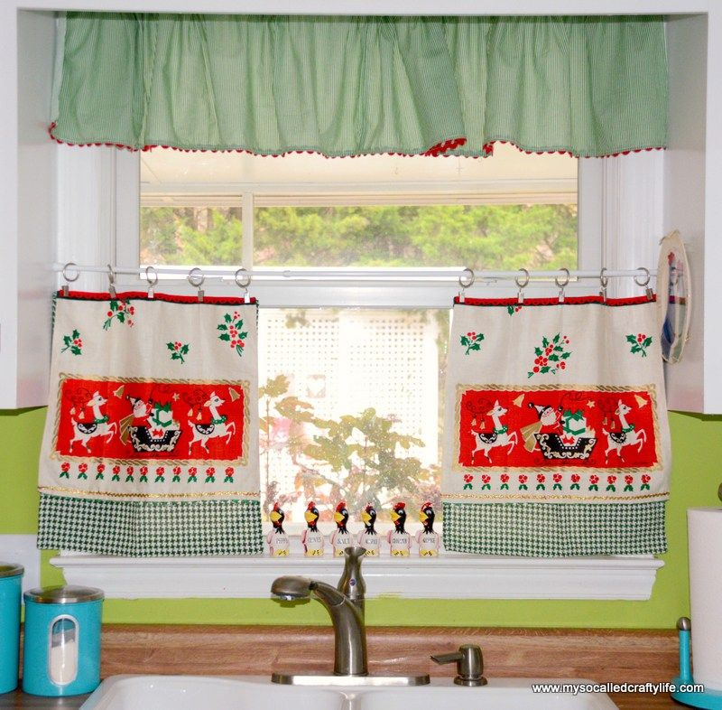 Christmas Curtains For Kitchen Amazing Design Ideas