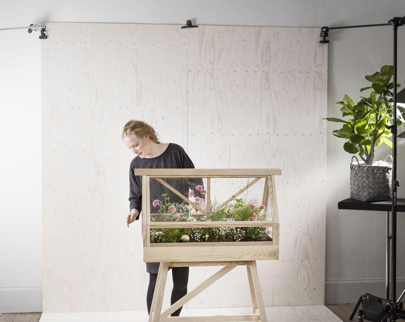 Imm Cologne 2017 Design House Stockholm Plants Greenhouse Terrarium Parnik