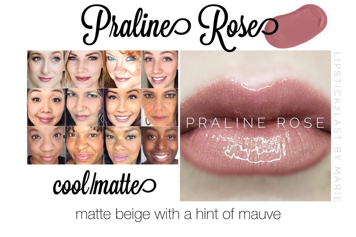 Praline Rose Lipsense Looks And Lips Collage Makeup Color Collages
