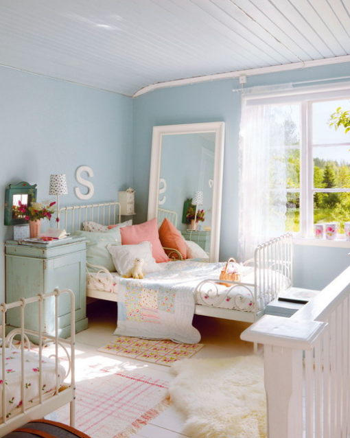 serenity blue is an ideal main color for a kids room soft pinks rh pinterest com