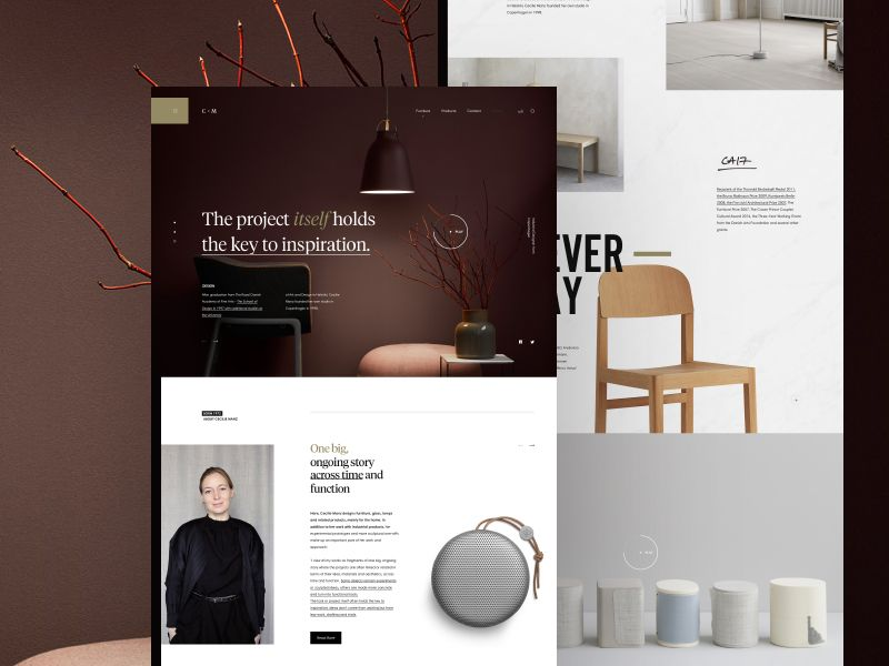 cecilie manz industrial designer web design inspiration rh pinterest com