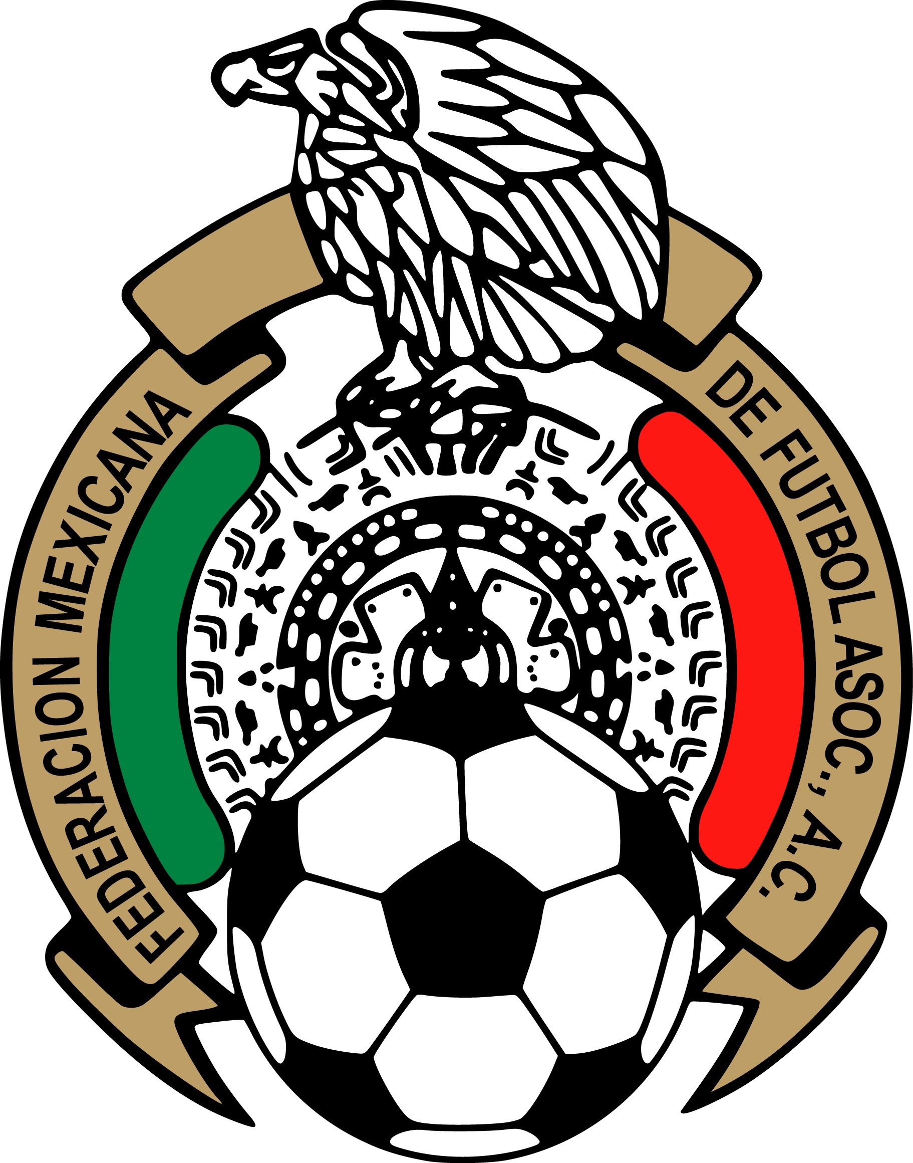 mexican football federation mexico national football team logo rh pinterest com mexico logistica mexican logos pictures