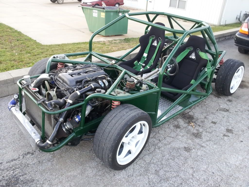 we are building a tube chassis drift car with the goal of putting it into