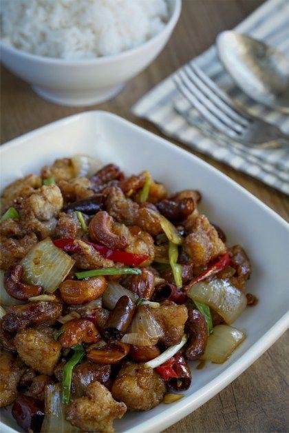 Pollo Con Anacardos, Cocina Tailandesa, Cocina Asiática