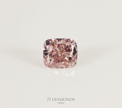 A stunning fancy #pink #diamond! @77 Diamonds