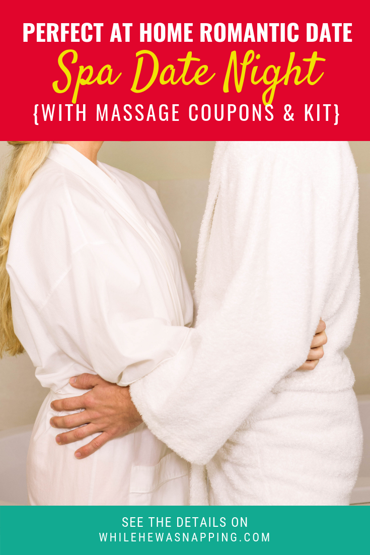 spa date night and massage kit for an awesome at home date love is rh pinterest com