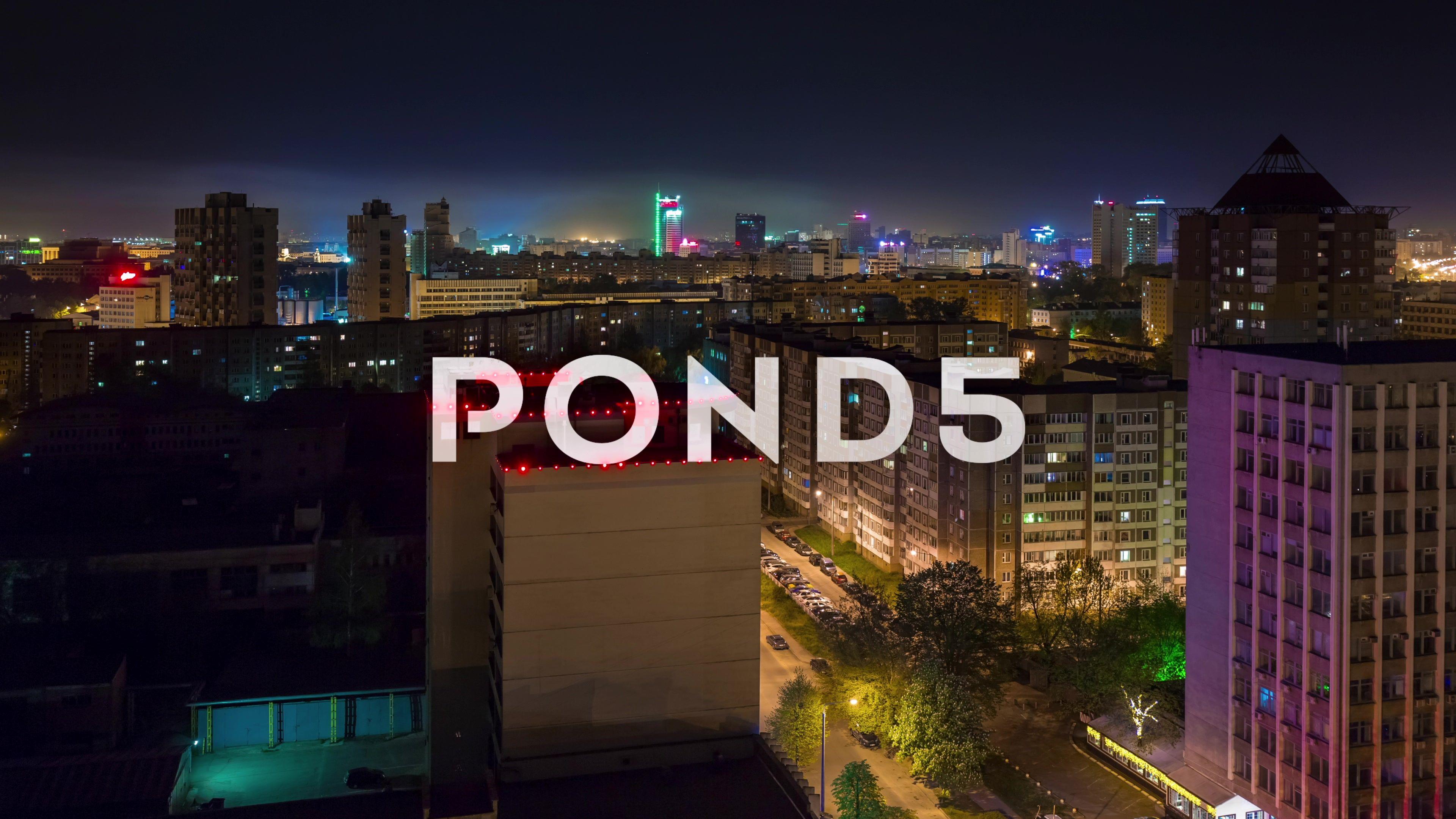 night illumination city roof top panorama 4k time lapse minsk rh pinterest com