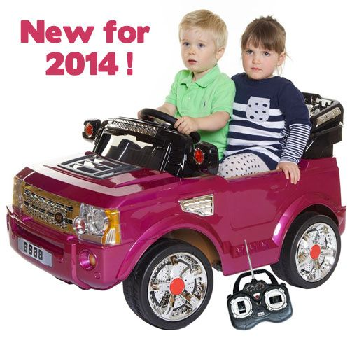 Cute Pink Range Rover Style Kids Car Kids
