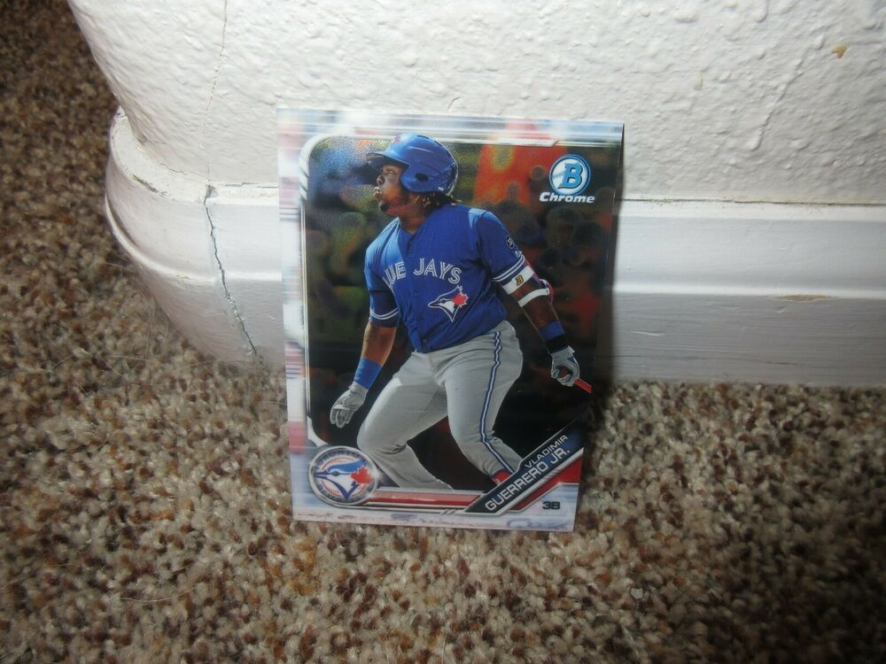 2019 Bowman Chrome Prospects Vladimir Guerrero Jr Rookie