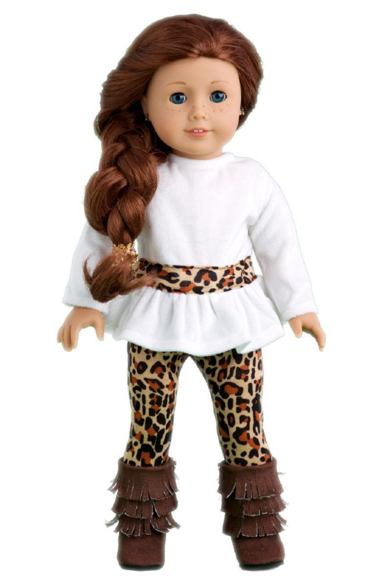 Fashion Safari - Clothes for 18 inch Doll - Ivory Velvet Tunic with Cheetah Leggings and Fringed Boots #bedfalls62 Fashion Safari - Clothes for 18 inch American Girl Doll - Tunic, Leggings, Boots – Dreamworld Collections #bedfalls62 Fashion Safari - Clothes for 18 inch Doll - Ivory Velvet Tunic with Cheetah Leggings and Fringed Boots #bedfalls62 Fashion Safari - Clothes for 18 inch American Girl Doll - Tunic, Leggings, Boots – Dreamworld Collections #bedfalls62