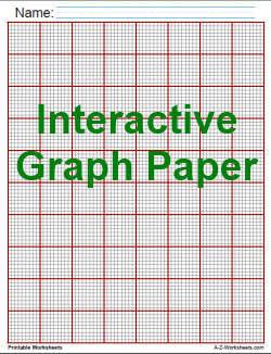 There Are Scores Of Different Kinds Of Interactive Printable Graph