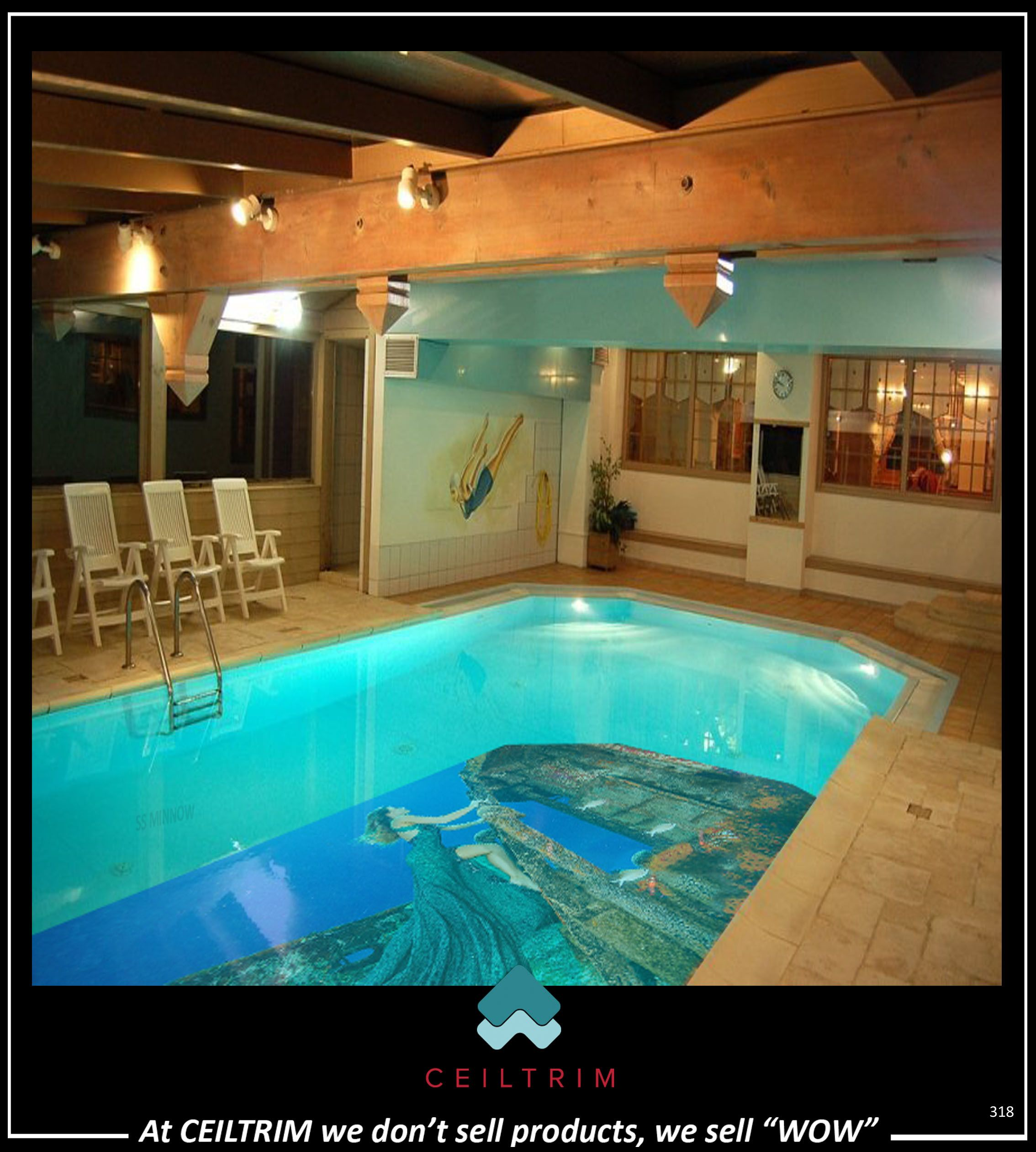 CEILTRIM 3D Resin Photo Pool Bottom | CEILTRIM POOL BOTTOMS in 2019 ...