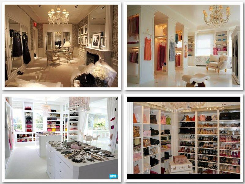 Can You Guess The Celebrity This Closet Belongs To Luxury Closet Lisa Vanderpump Closet Master Closet