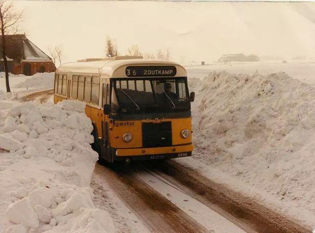 Winter 1978 1979 in Groningen