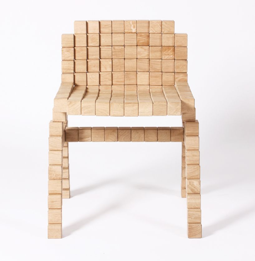 Beautiful Erik Stehmann: Blocks Collection   Wooden Pixel Furniture Pictures