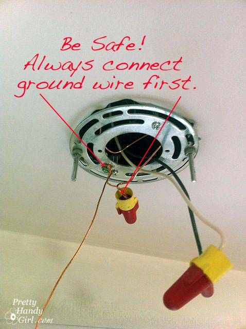 how to install a hard wired pendant light for the home bathroom rh pinterest com