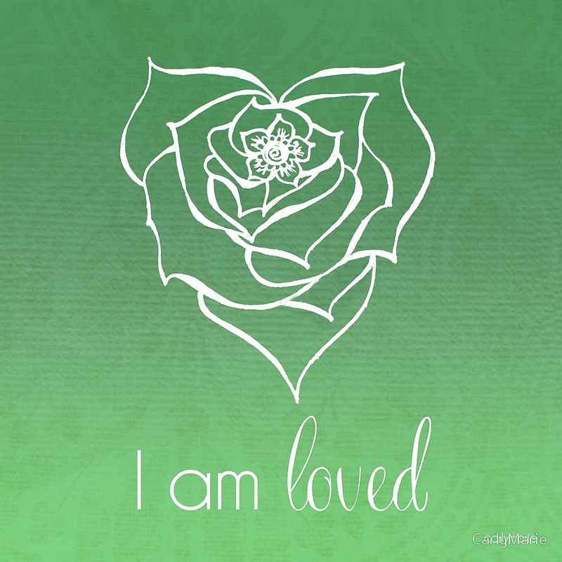 'I AM Loved' Poster by CarlyMarie