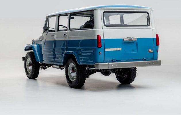 Nyt voi hankkia uudenveroisen klassisen Toyota Land Cruiserin…