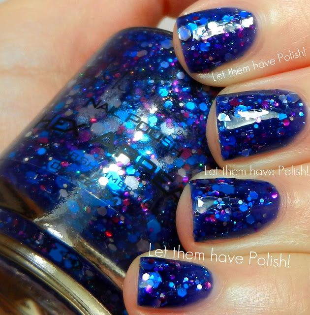I clearly need some KBShimmer in my polish stash! KBShimmer Hex Appeal swatched by Let them have Polish!