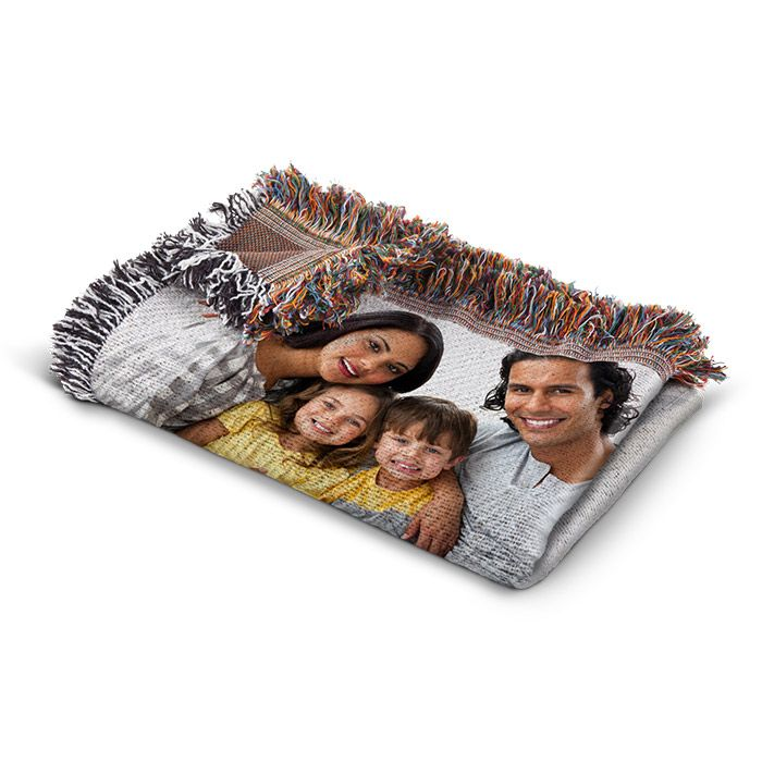 Photo Throw Blankets Create Custom Photo Throw Blankets