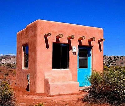 Abiquiu New Mexico An Off Grid Adobe Full Time Home For