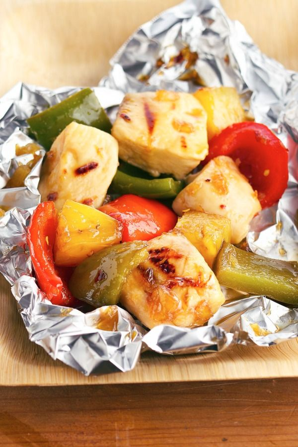 Grilled kabobs without the skewers are easy to fix and clean up!