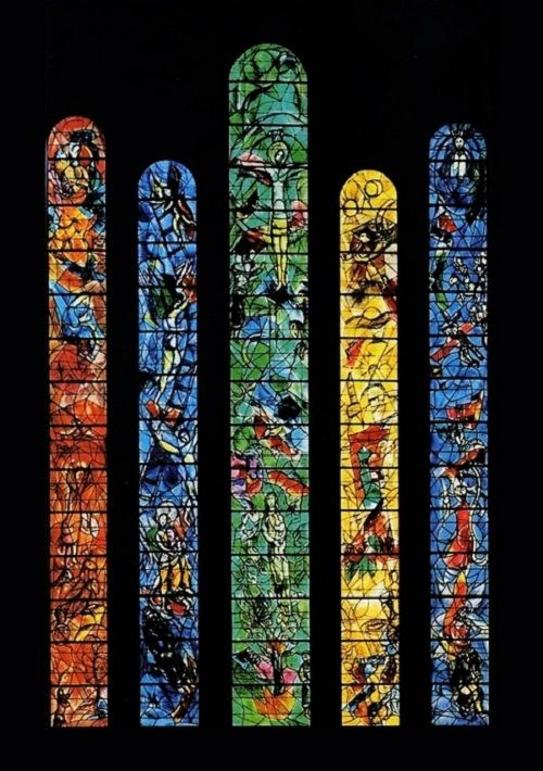 Marc Chagall Stained Glass Windows Stained Glass Windows Of The