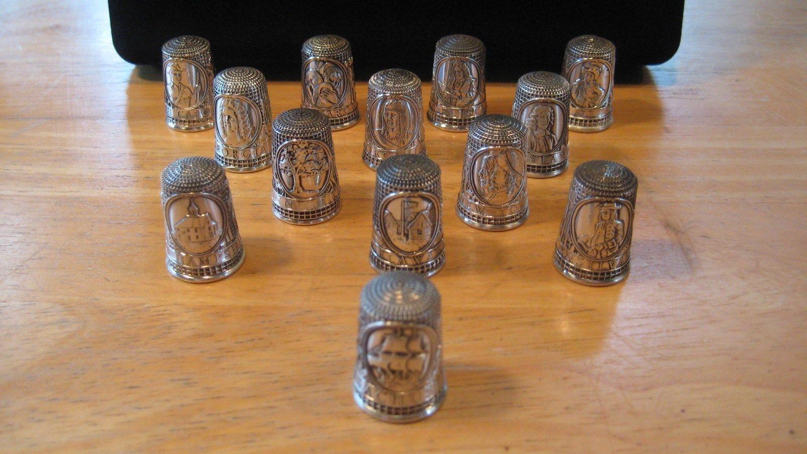 Franklin mint 13 colonies franklin mint silver mint