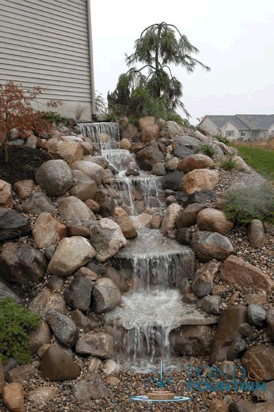 Easypro Pondless Waterfall Kit Medium Rybniky Vodopady Vodni Detaily
