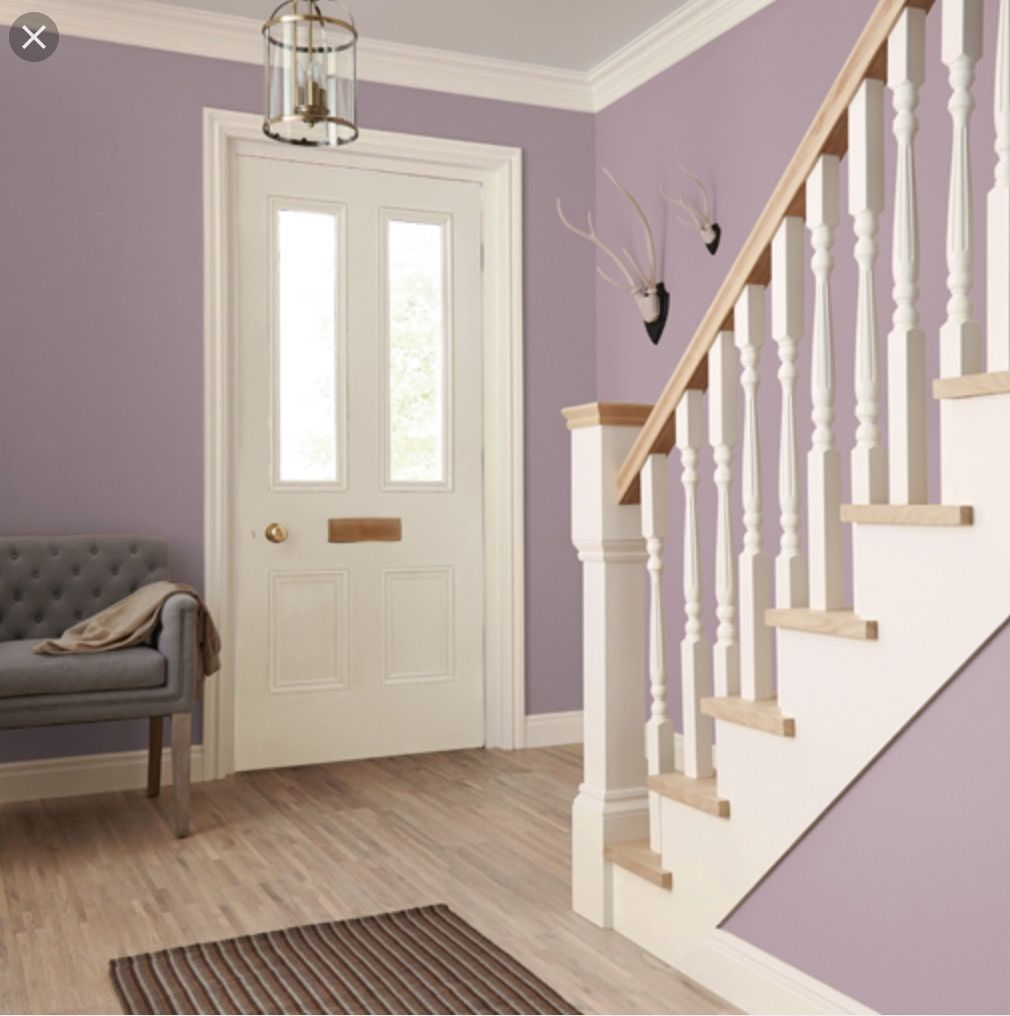 Hall and stairs in crown paint 39 s wonderland homes - Crown paint colours for living room ...