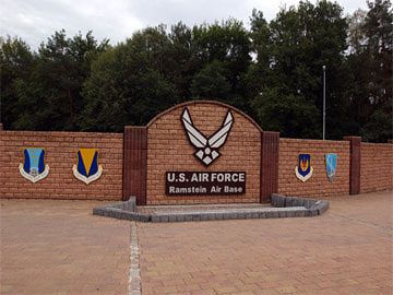 Ramstein Air Base, Germany  My husband went to high school here and my I laws still live near by.
