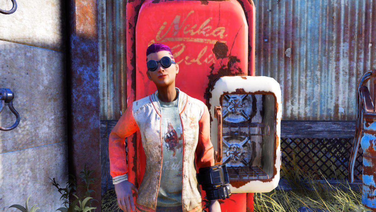 Rocking my Nuka garb! Fallout76 XboxShare Shopping