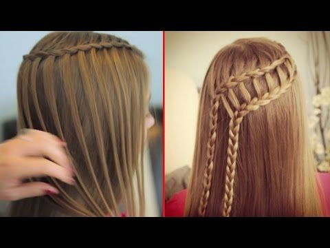 How To Make Hairstyle For Girls At Home 2 Fast Simple Hairstyles For Girls Hairstyle Tutorial Youtube Girls Hairstyles Easy Hair Styles Easy Hairstyles