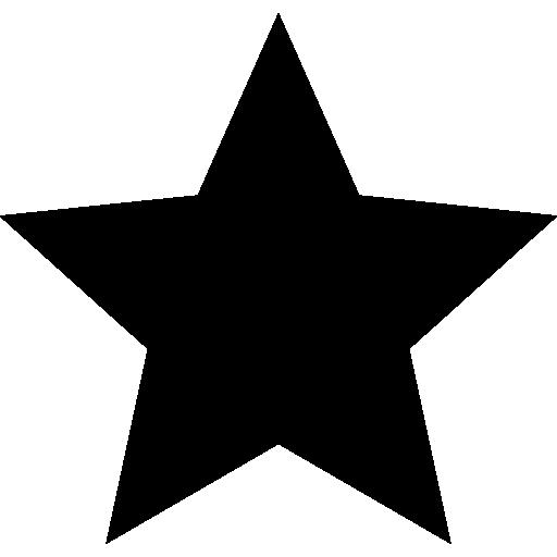 Plain Star Free Vector Icons Designed By Freepik Star Logo Design Jungle Wall Decals Black Star