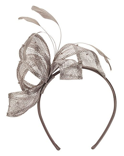 fe3ee3cbd6 Headband Fascinator With Pearl Detail | wedding faves | Fascinator ...