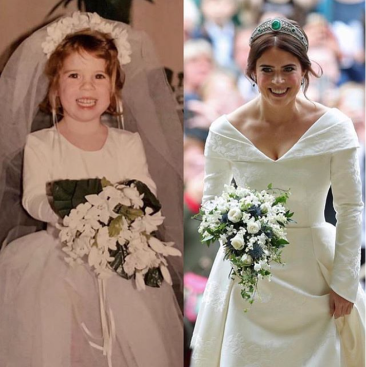 Princess Eugenie Shares Adorable Throwback Photo That