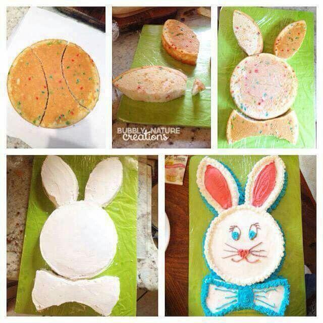 Vintage Hasen Kuchen Quelle Facebook