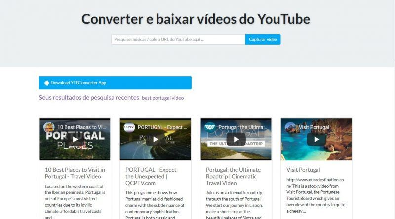 Conversor De Video Do Youtube Para Mp3 Blog Video Youtube Blog