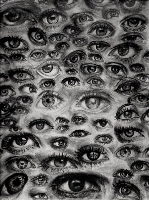 Image about eyes in Art by Renata on We Heart It