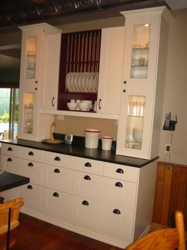 creamy white with darker grey black counters nice brown insert and rh pinterest co kr