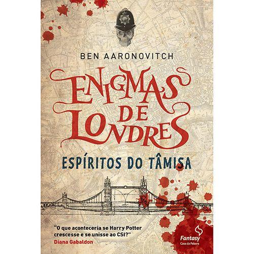 Espíritos do Tâmisa - Trilogia Enigmas de Londres