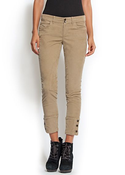 button trousers $34.99