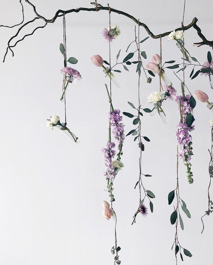 20 belles idées à décorer avec des guirlandes de fleurs  #belles #decorer #fleurs #guirlandes #idees #garlandofflowers