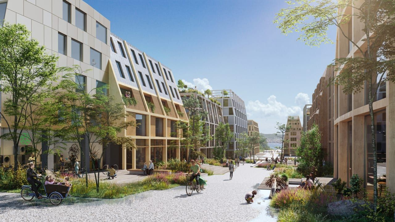 How To Redesign A Neighborhood For Zero Emissions In 2020 Eco City The Neighbourhood Nature Design