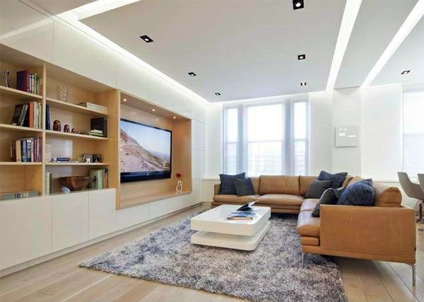 indirect lighting ideas tv wall led tv room wall in modern living 15 inspiring examples ecor