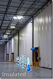Warehouse Divider Curtains Akon Curtain And Dividers Custom